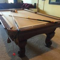 Pool Table in Excellent Condition (SOLD)