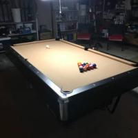 4' x 8' C.L. Bailey Slate Pool Table with Accessories