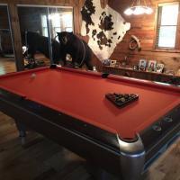 Vintage AMF Pool Table