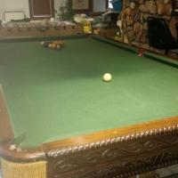 Antique Pool Table for Sale
