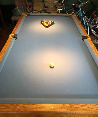 Brunswick Pool Table-Like New