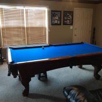 8 Foot American Heritage Pool Table (SOLD)