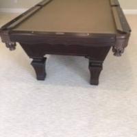 Dark Cherry Pool Table