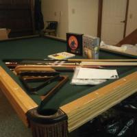 Steepleton Pool Table All Accessories